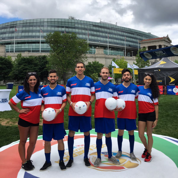 Chicago Freestyle Soccer Players