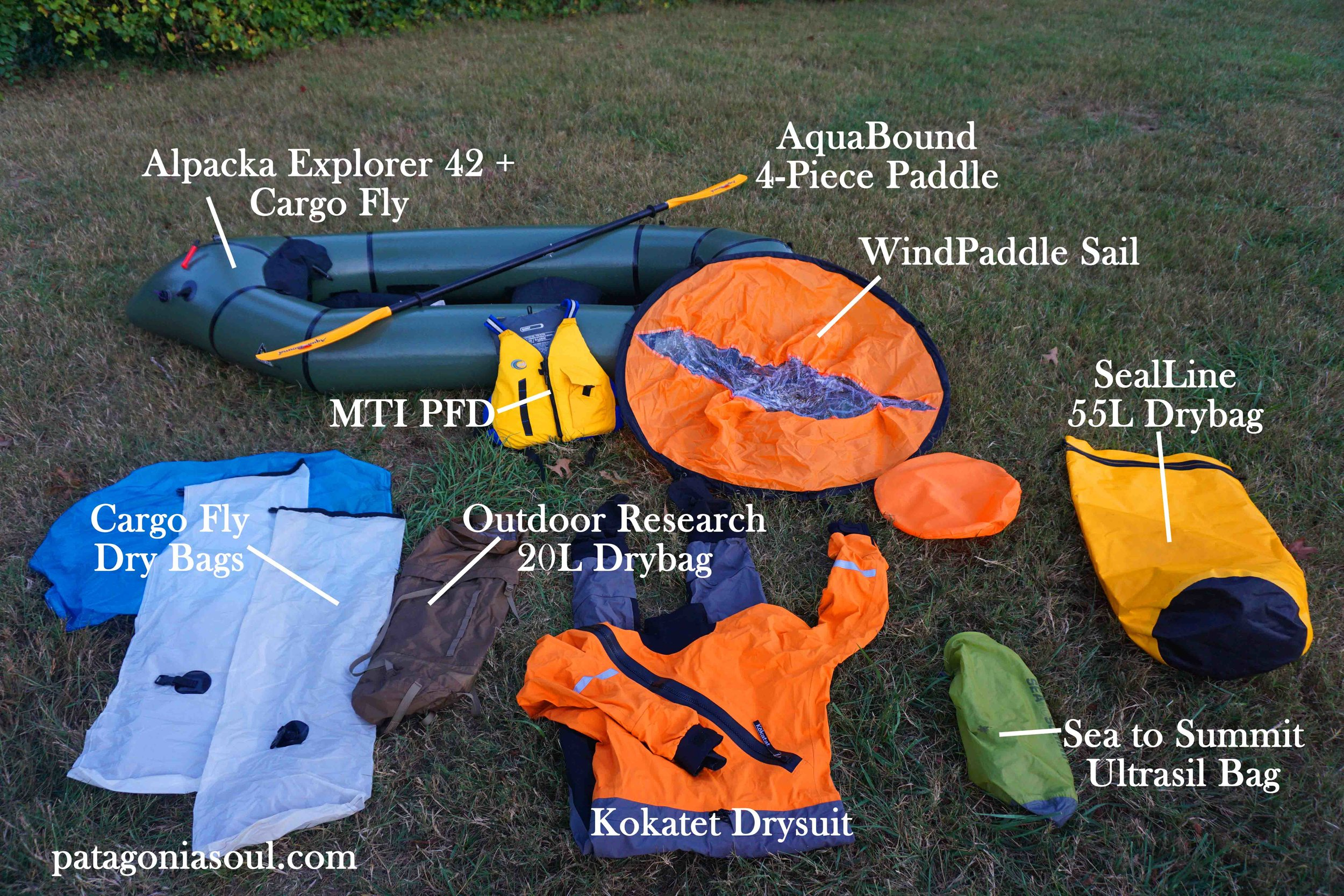 Packraft Equipment