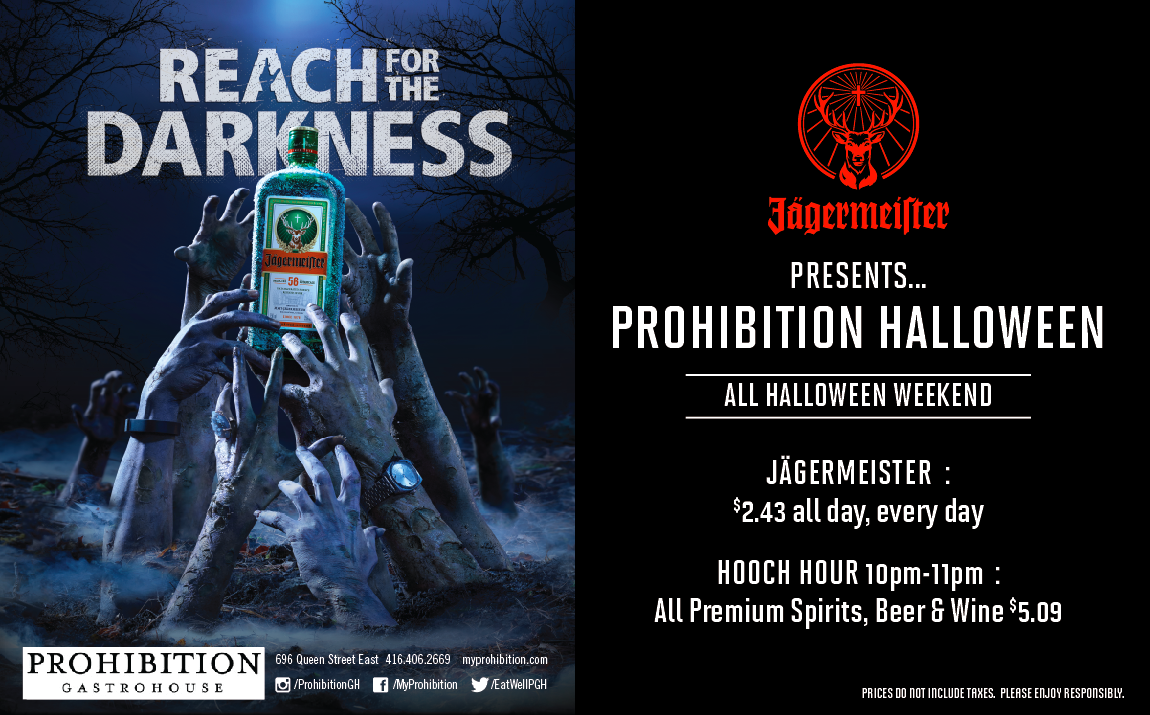 Jagermester Presents Prohibition Halloween 2016