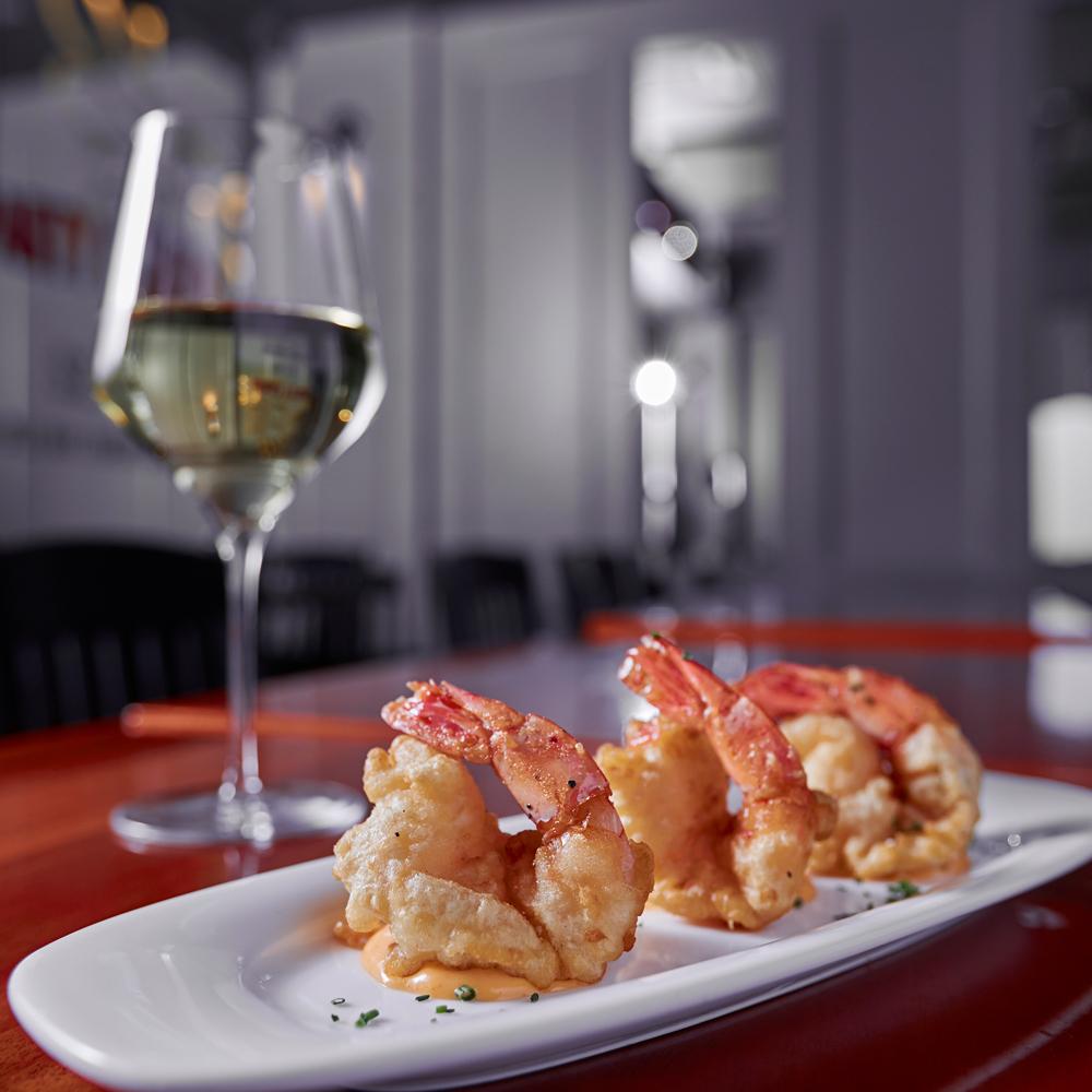 Colossal Tempura Shrimp - Vodka Tempura Shrimp Served with Spicy Aioli