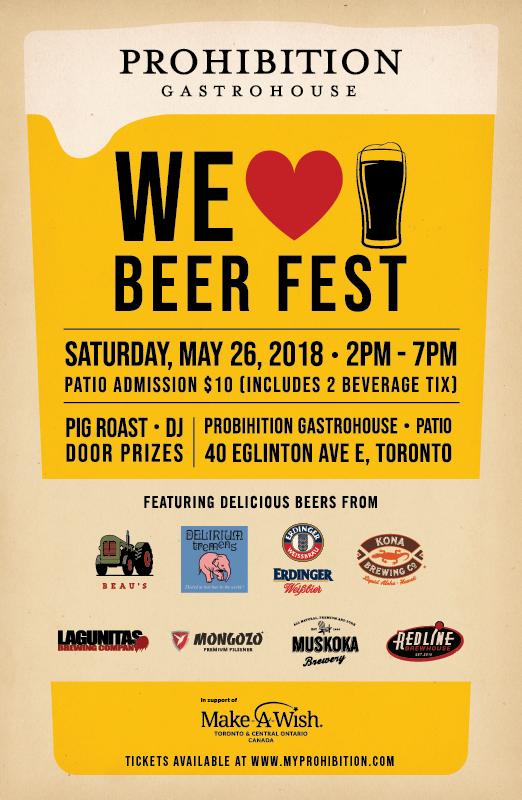 Prohibition We Love Beer Fest