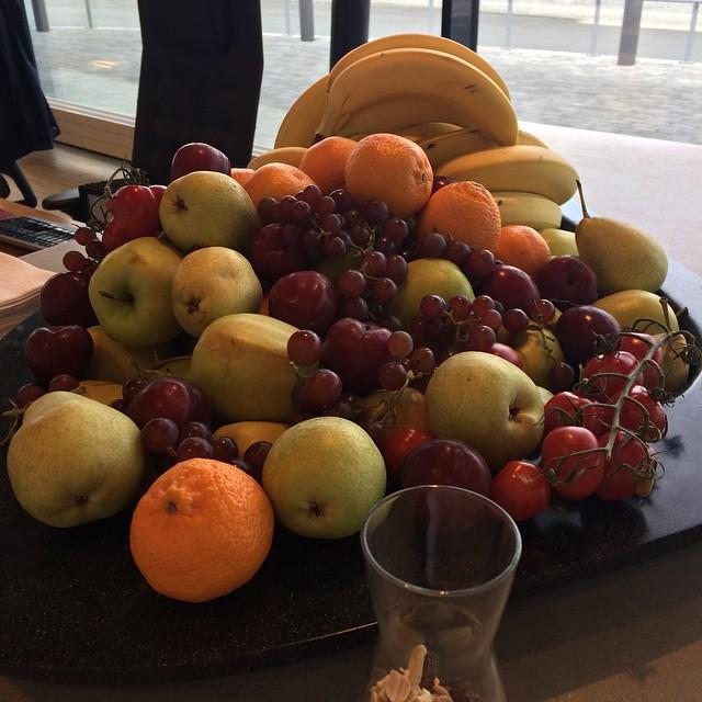 For et herlig fruktfat vi ble møtt med ute på kundebesøk i dag😎 #vikar #oslo #hodejakt #nyjobb #arbeid
