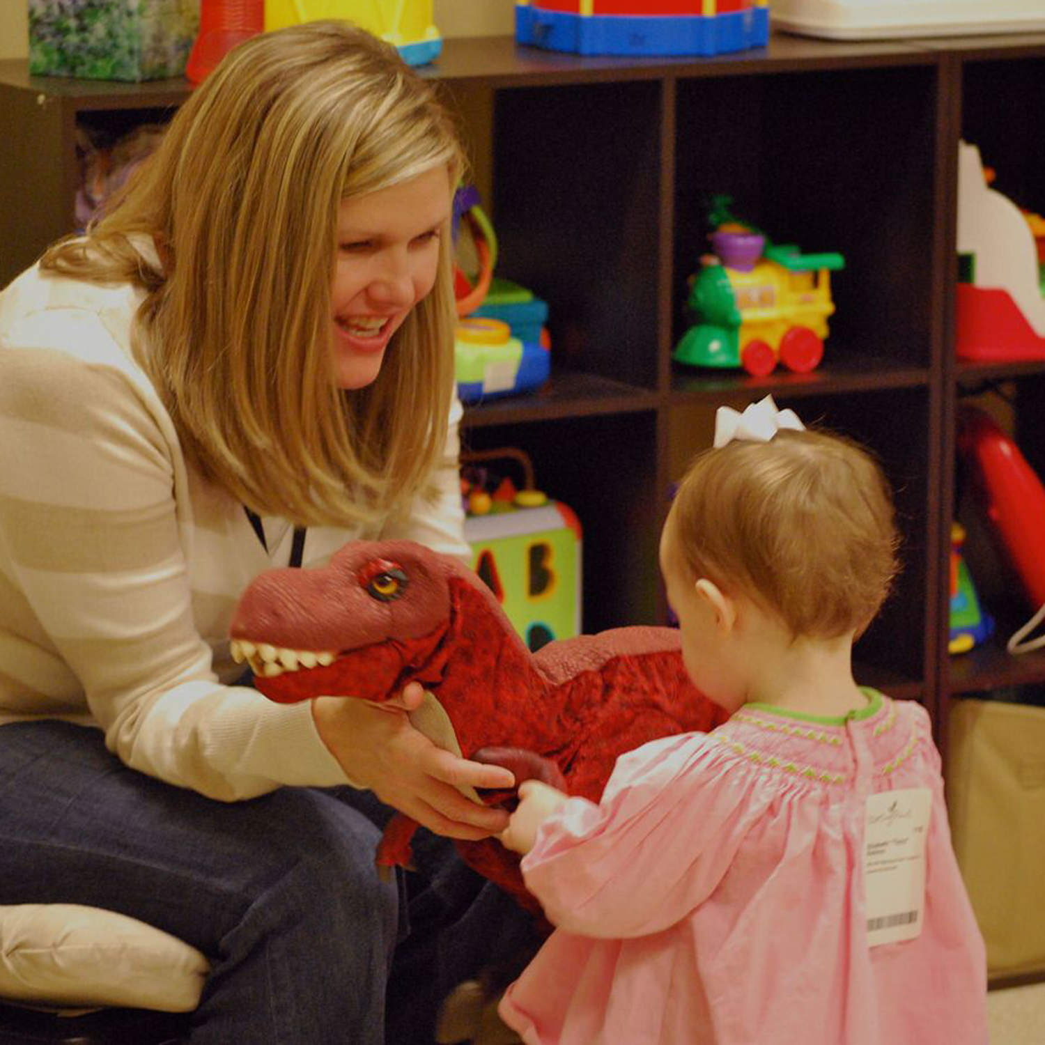 Nursery   (o - 23mo.)  Our nursery classes are designed to minister to infants and toddlers from birth to two years. While parents enjoy our weekend services, our team creates a positive church experience that introduces them to the love of Jesus.