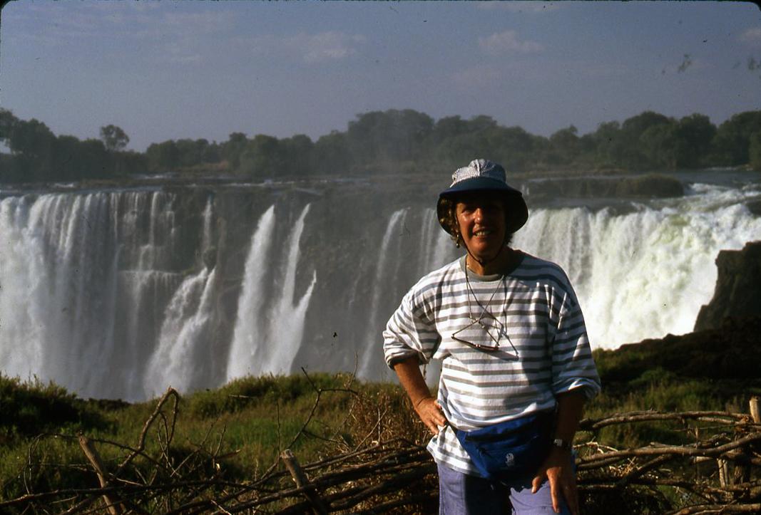Val at Victoria Falls