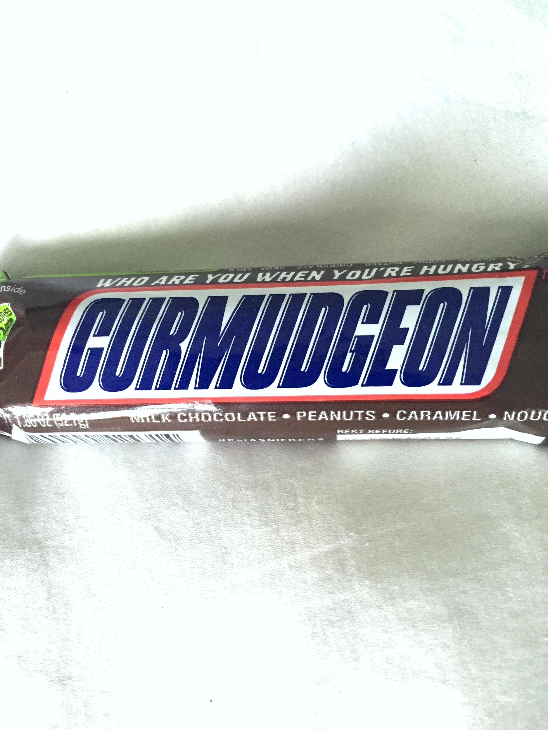 Thanks, Nicole, for finding the world's most perfect word on the world's most perfect candy bar.