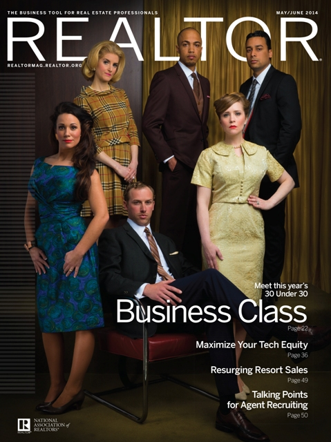 Cover of Realtor Magazine  May/June 2014