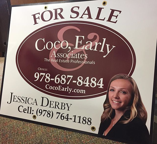 Nothing like a fresh sign hot off the press! Give us a call to list or sell! #realtor #realestate #cocoearly #thekathrynearlygroup