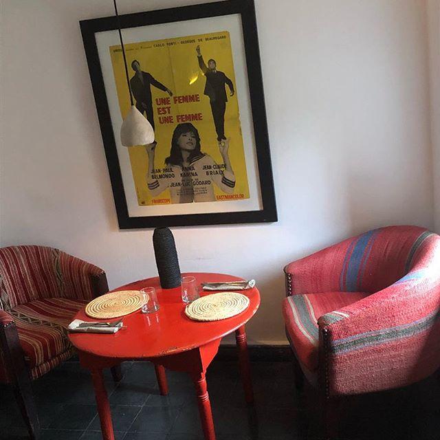 Marrakech inspires wherever you look.  #blanket chairs #inspiration @nomadmarrakech #Marrakech @tikmerrillees
