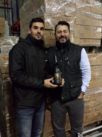 Winemaker, Olivier Gras and Michael Riahi