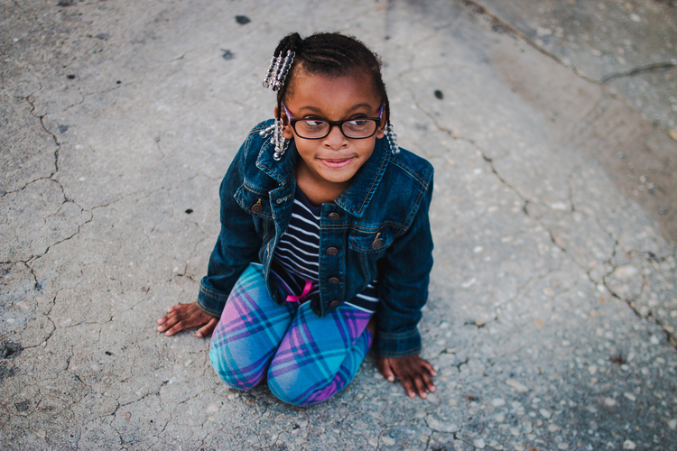 My daughter, Addison.