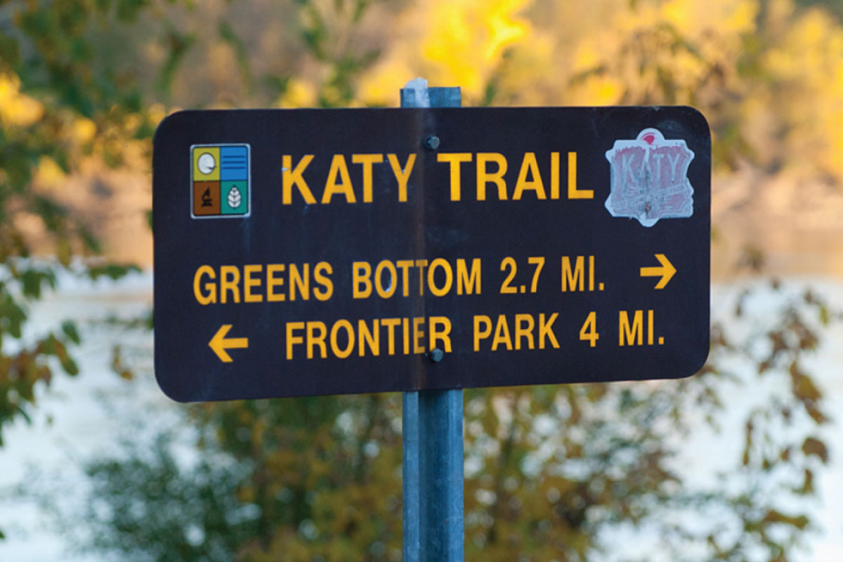 225-MILE KATY TRAIL
