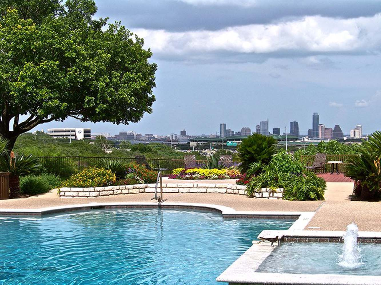POOL WITH CITY VIEWS
