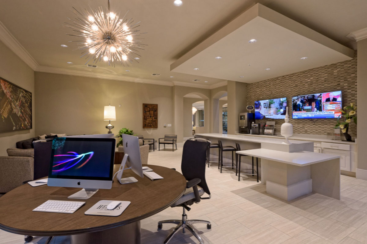Cyber Lounge with Mac Computers