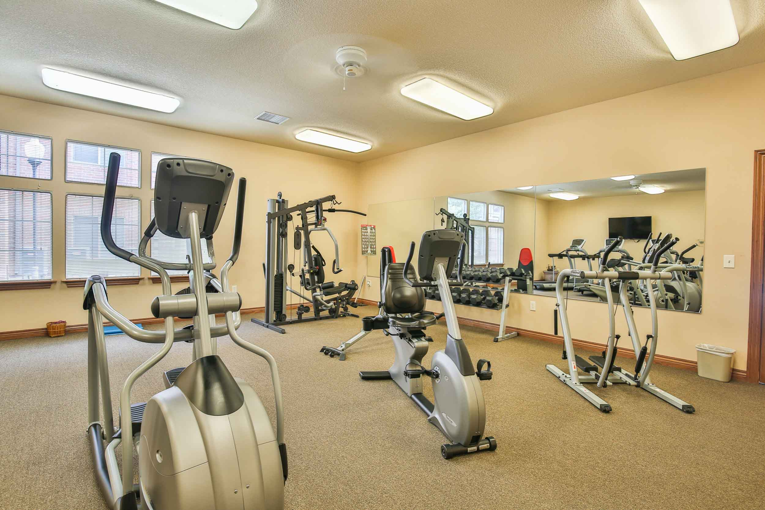 Clubhouse with Fitness Center