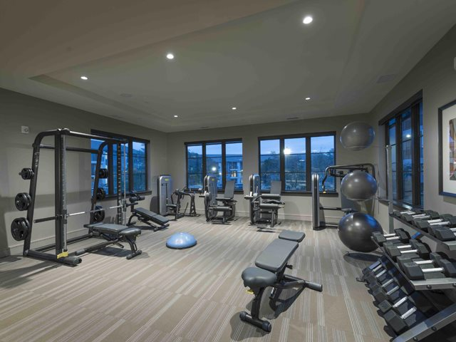 24/7 Technogym Fitness Center