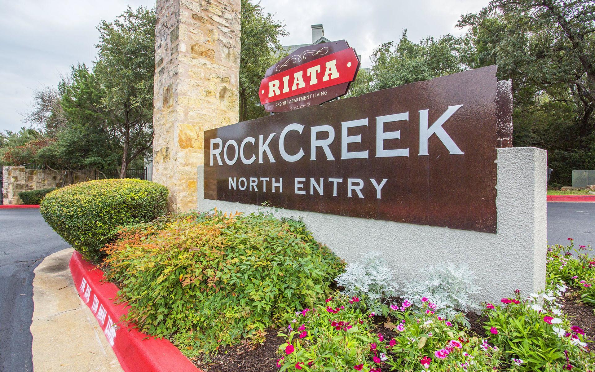 Rock Creek Entrance