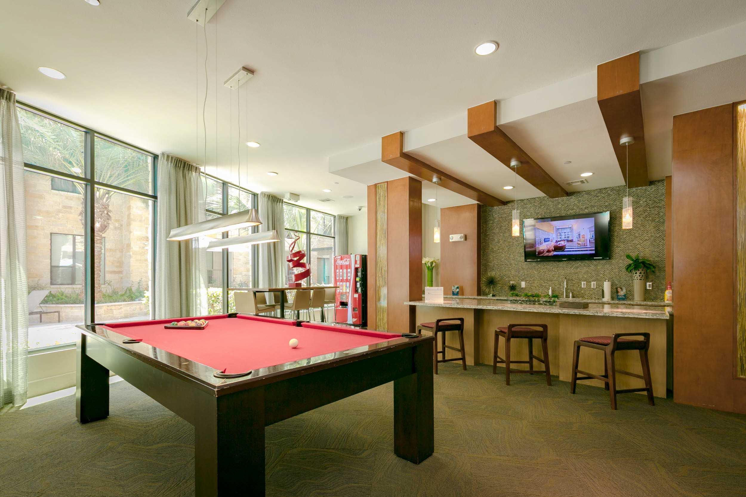 Billiards and Poker Lounge