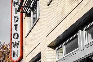 Midtown Sign - Bentonville, AR