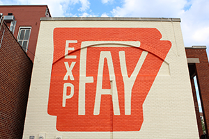 Experience Fayetteville Mural