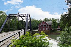 Bridge and Barn - Northwest Arkansas