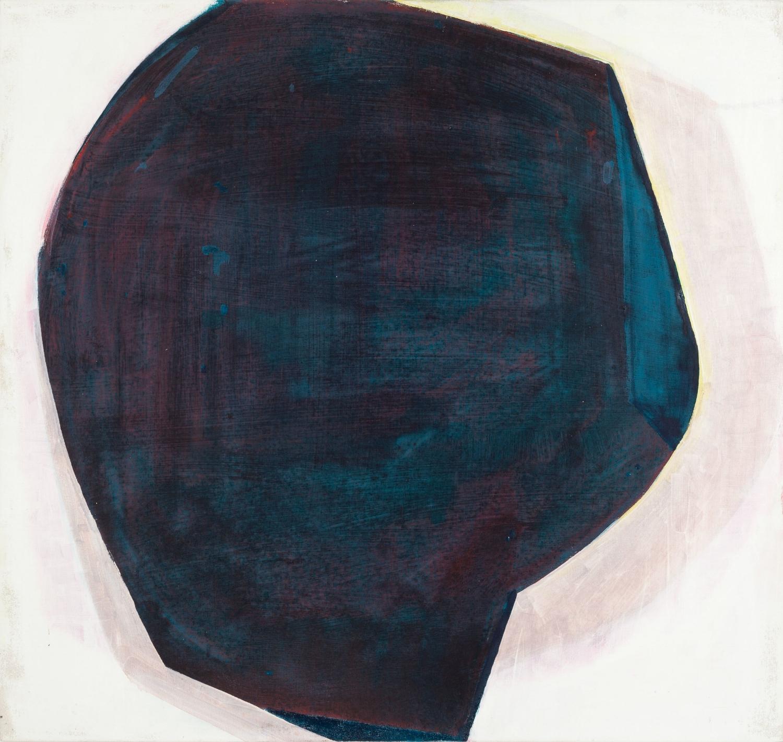 Aforismo 1-A  , 2014, tierra de color y óleo sobre tela, 80 x 85 cm.