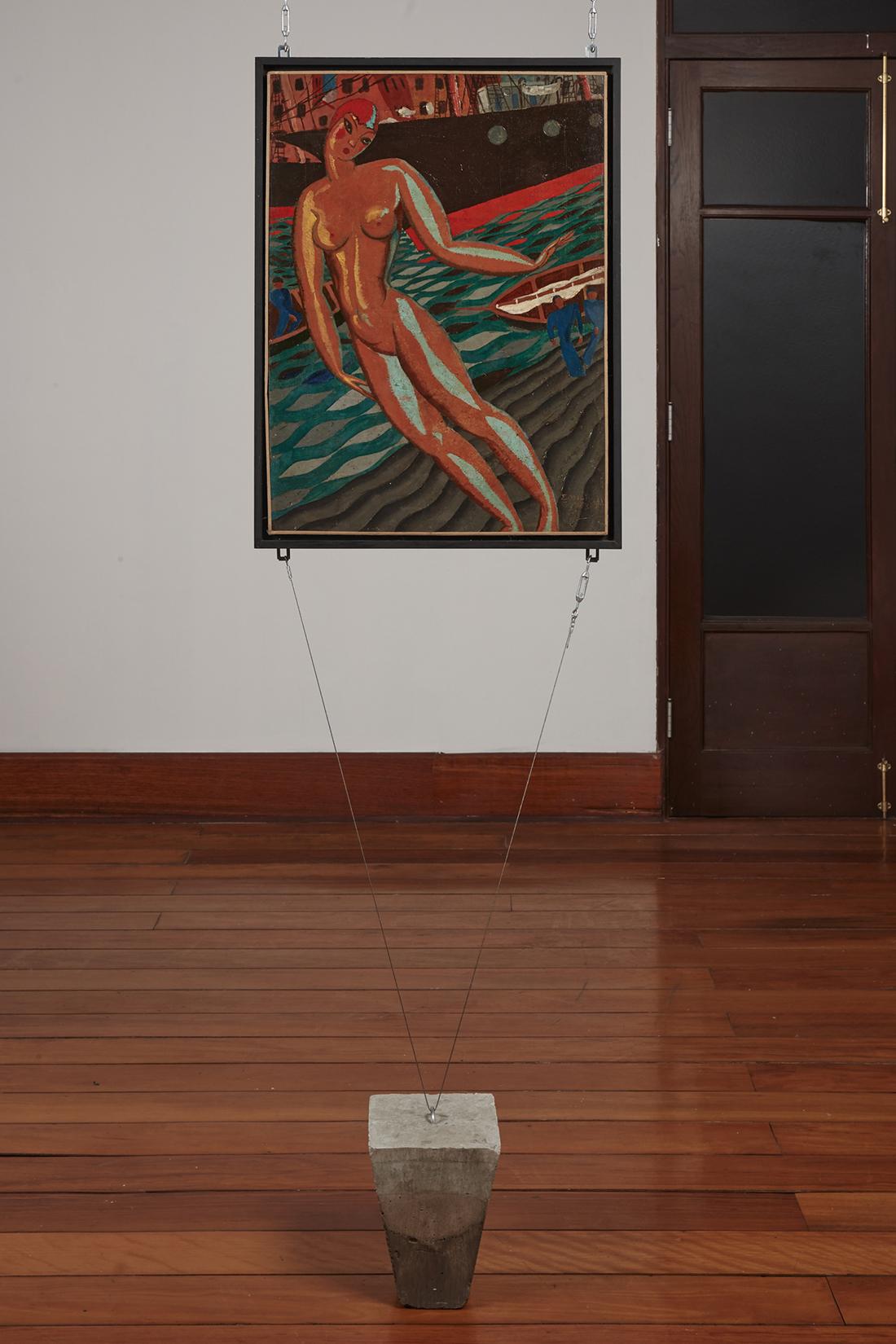 Emilio Goyburu,  Bañista,   1926. Colección Museo de Arte, UNMSM