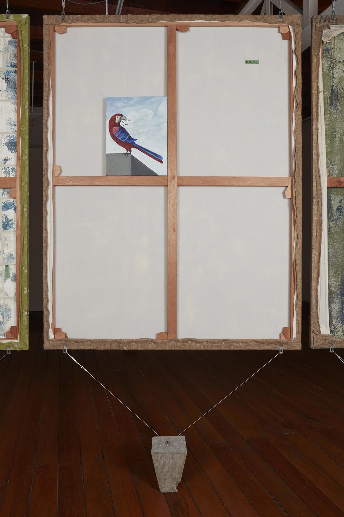 Abundancia y paraíso  , 2018, óleo sobre tela, 43 x 33 cm.