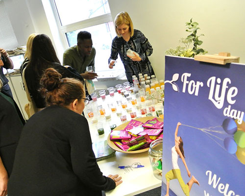 Employee wellbeing day for corporate client.jpg