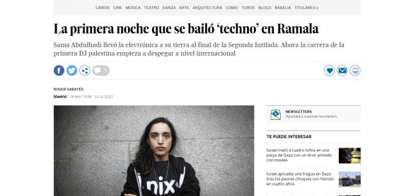 El Pais, 28th May 2018