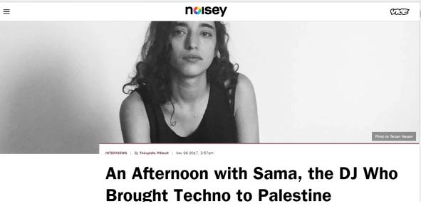 Noisey, 26th November 2017