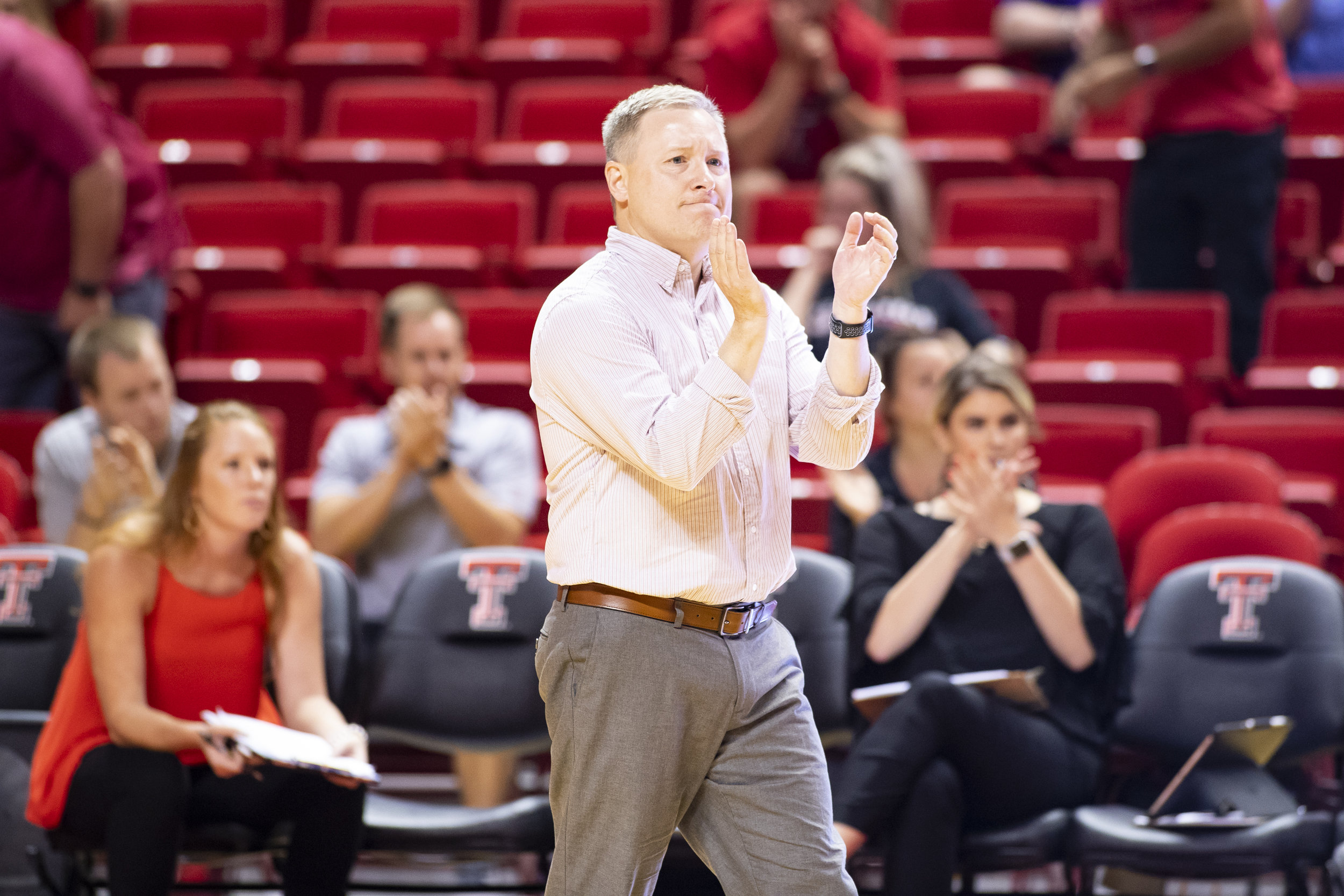 Coach Tony Graystone  Head Coach Texas Tech Volleyball