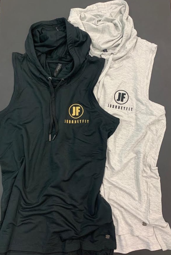 JOURNEYFIT Sleeveless Hoodie - EVERYDAY & WORKOUT SWAG