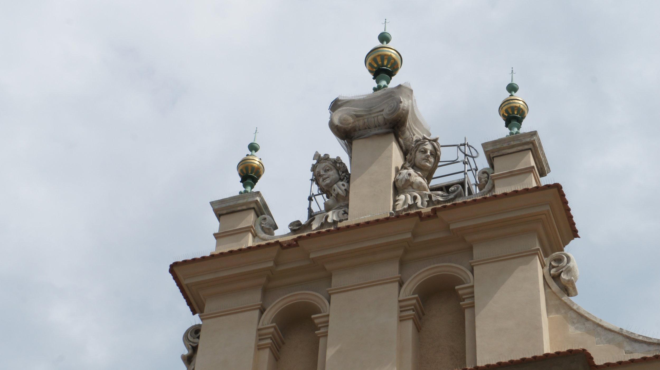 building in krakow, poland