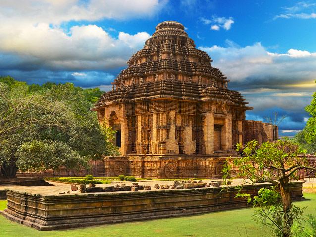 Konark Surya Temple, Odisha, India