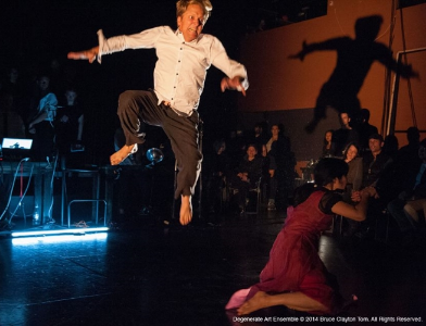 """""""Predator Songstress"""" preview Degenerate Art Ensemble 2015 Photo Bruce Clayton Tom"""