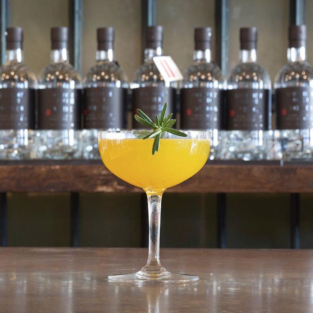 Smoky Pineapple <br>Screwdriver
