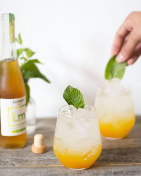 Lemon Mint Brunch