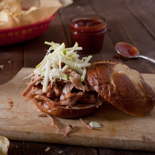 Pulled Pork BBQ <br>& Slaw