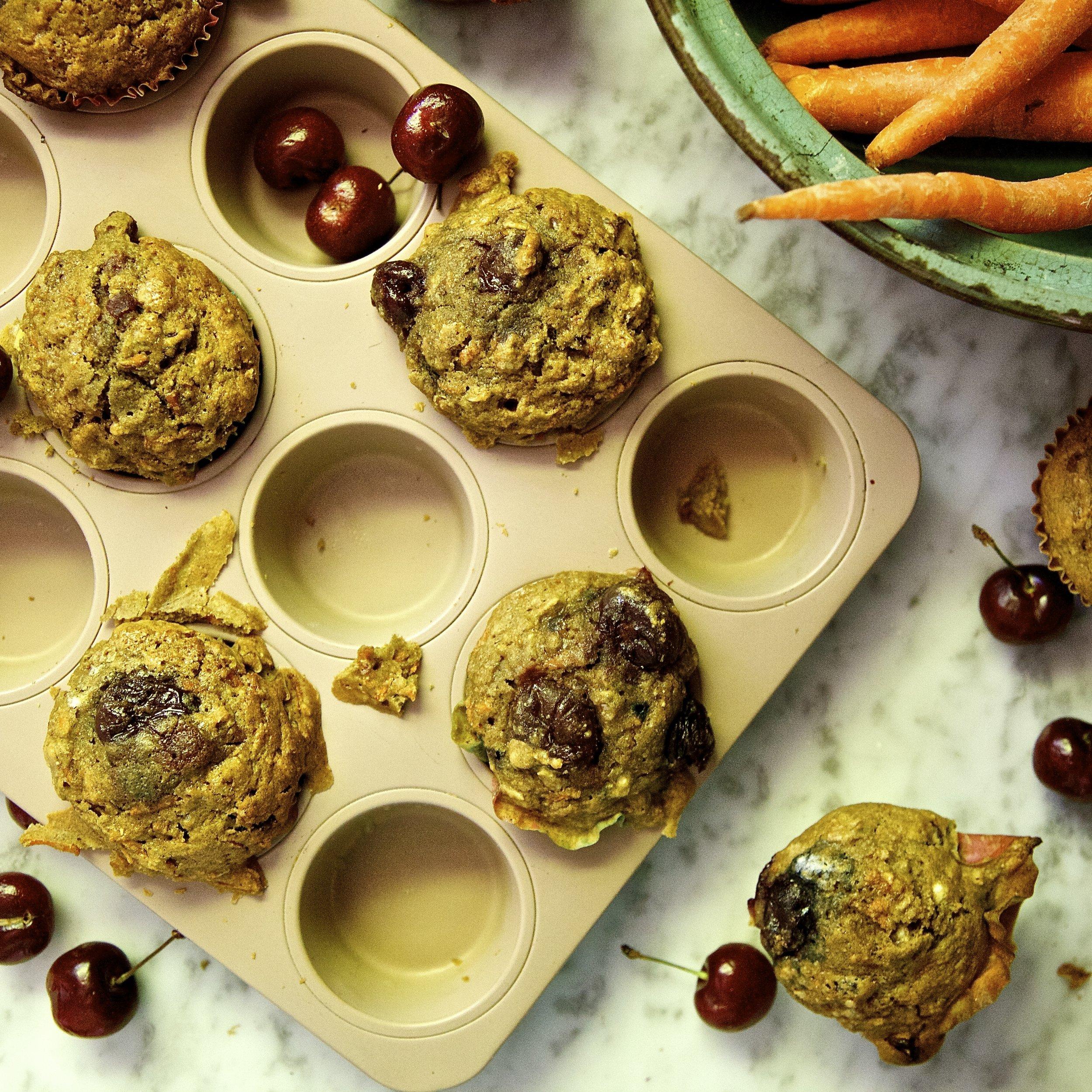 Cherry Carrot Chai Pear Muffins - Chai Pear Shrub.jpg