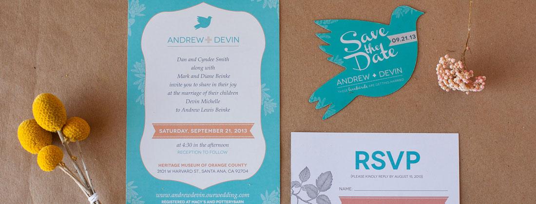 Custom Wedding Invitation Design
