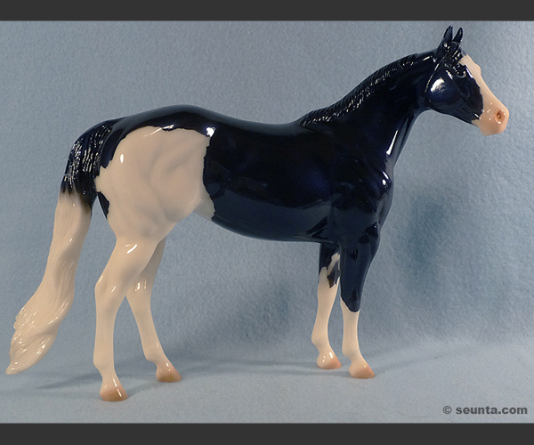 2006 Stone Horses : Glossy : only 2 made (1 test), straight tail