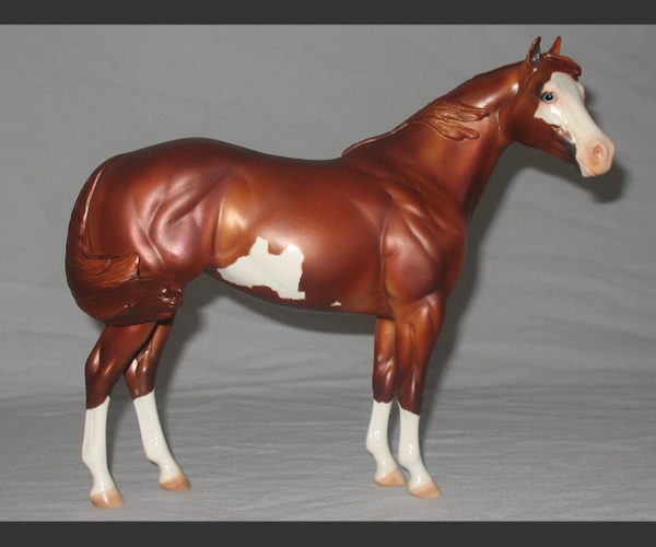 2006 Stone Horses : Matte : Windswept test : only 1 made : signed