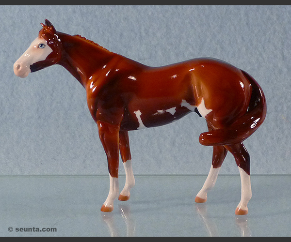 2006 Stone Horses : Glossy Windswept Mini Me : only 30 made for Peach State Live