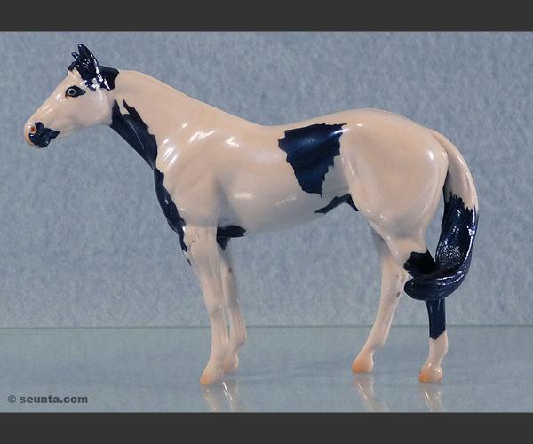 2006 Stone Horses : Glossy Windswept Mini Me : only 50 made