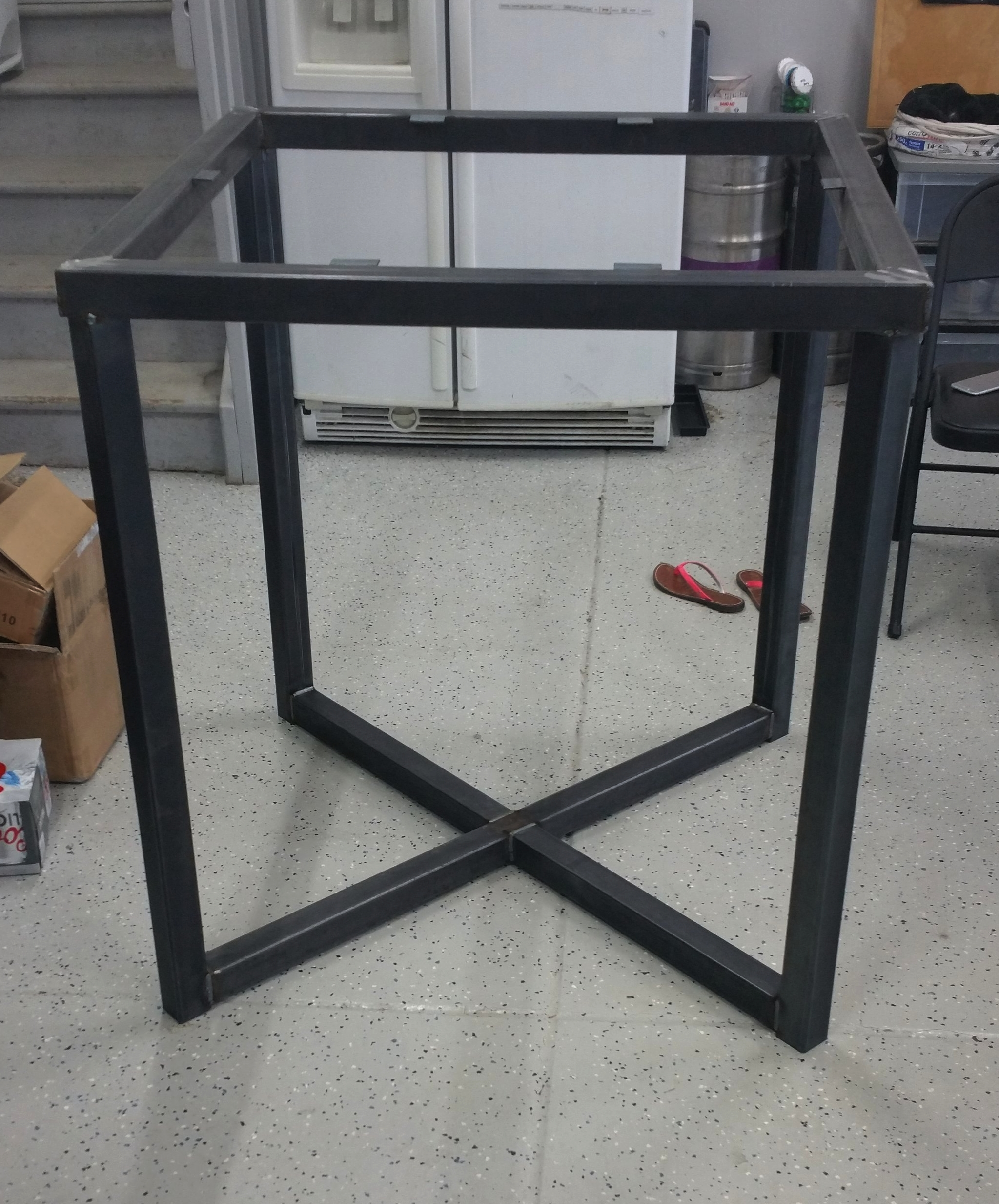 Hi Top Table Frame