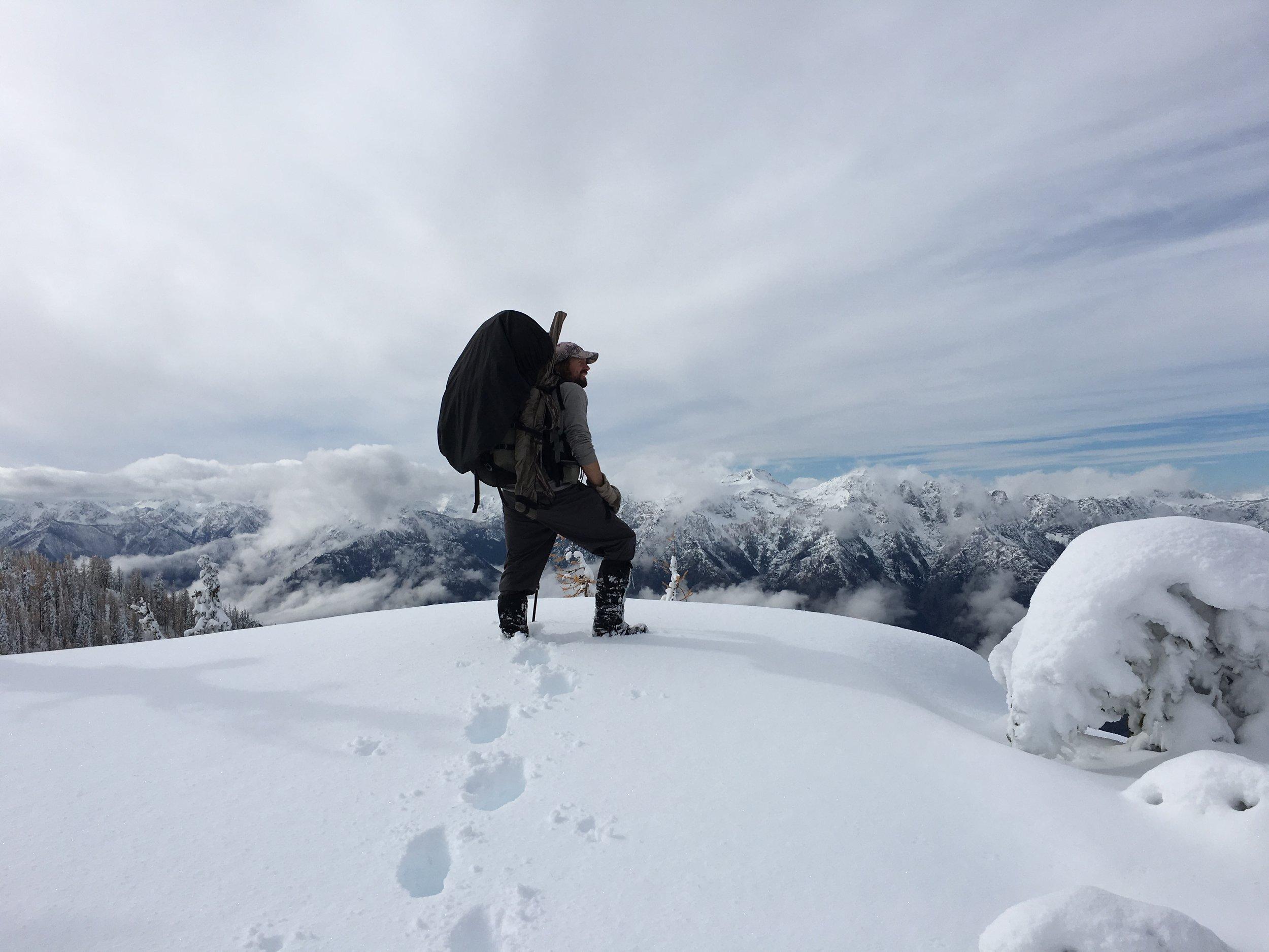 Mule deer hunting in the WA Cascades is always a challenge....  Photo credit Joey Pyburn  @joeypyburn