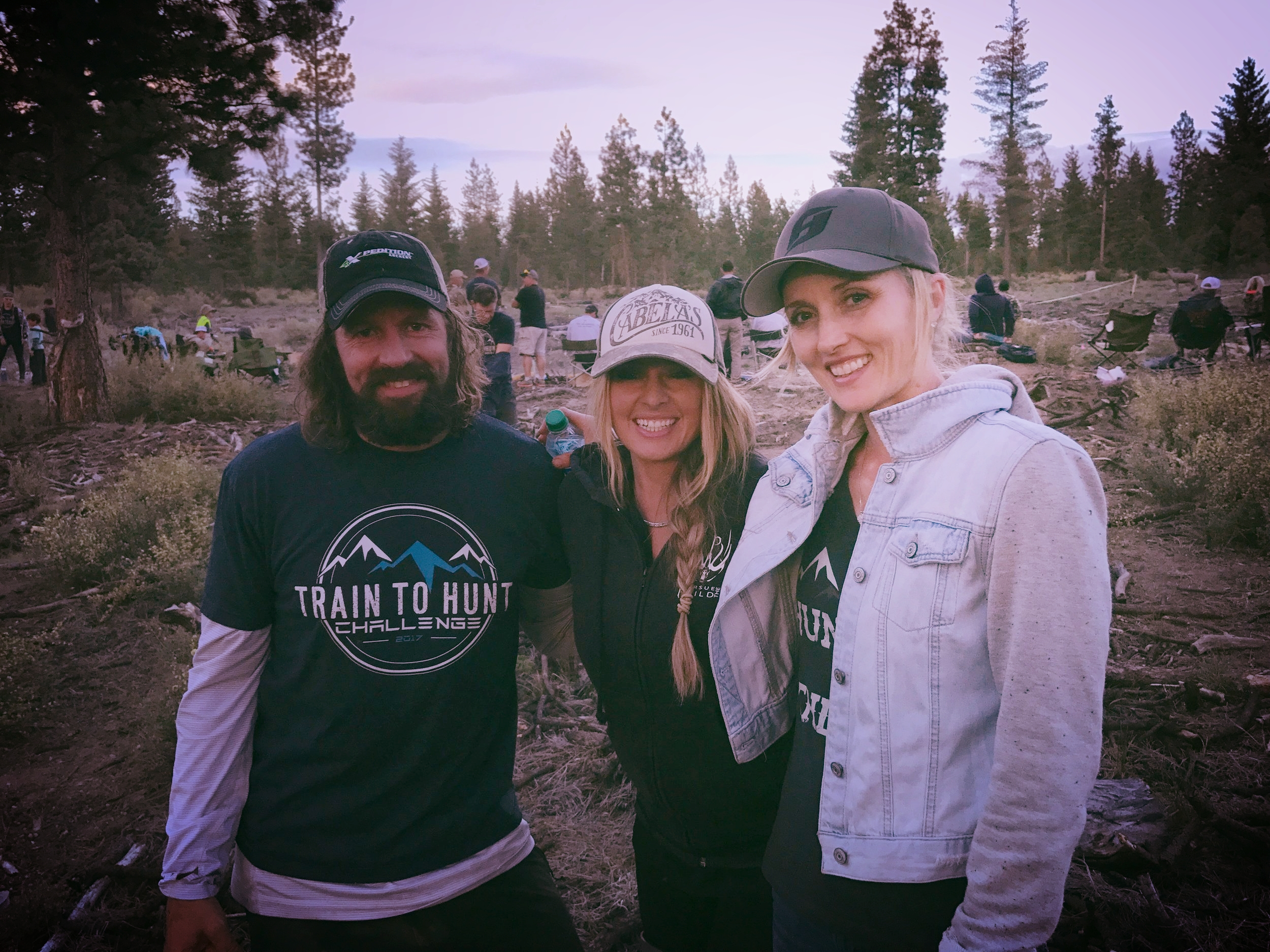 Ryan, Hillary, and Kristy Titus at Oregon TTH 2017