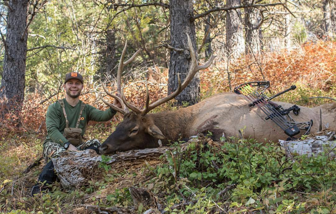 Jon and his Montana archery elk.