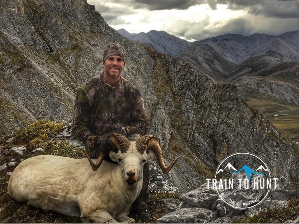 Kenton Clairmont and his Alaska Sheep