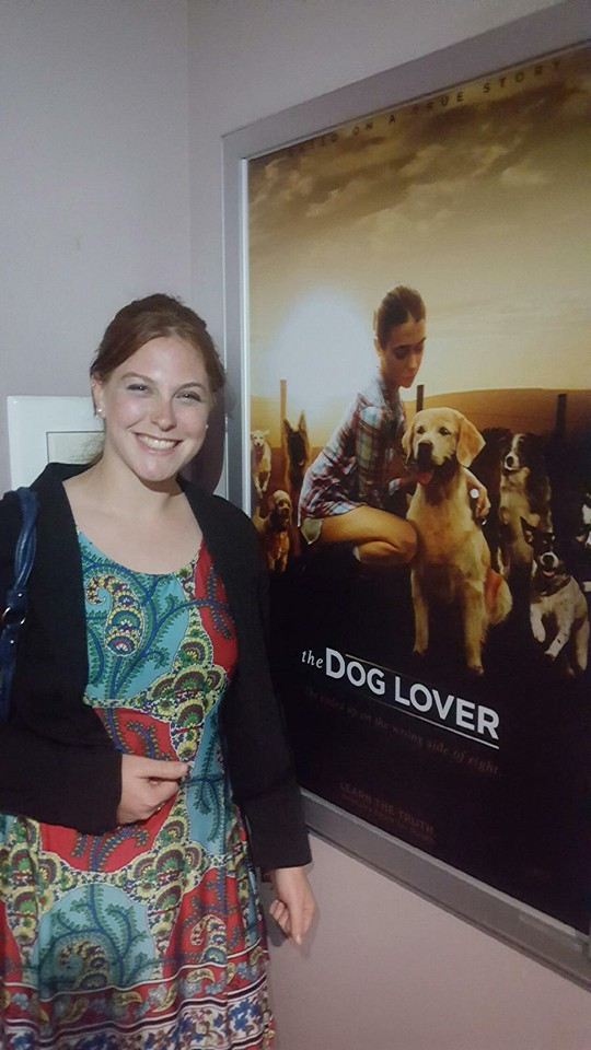 The Dog Lover In Theaters  A film I worked on with editor Brett Hedlund and ESX Productions was shown in select theaters on July 8, 2016 and the following week.